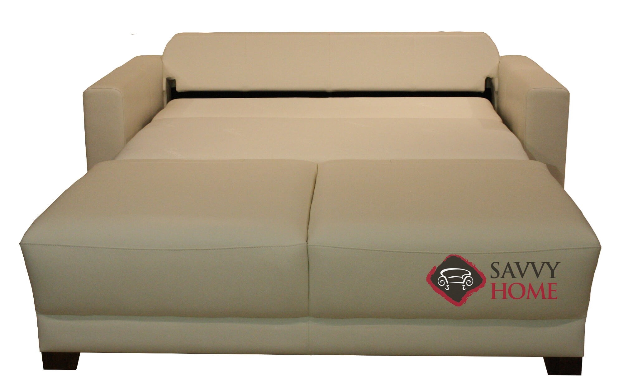 Toronto Queen Leather Sofa Bed by Luonto