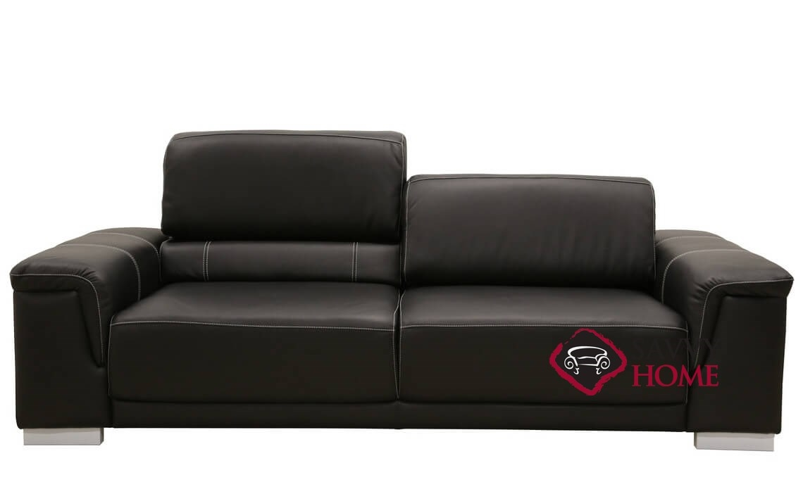 copenhagen by luonto leather sleeper sofas queen by luonto