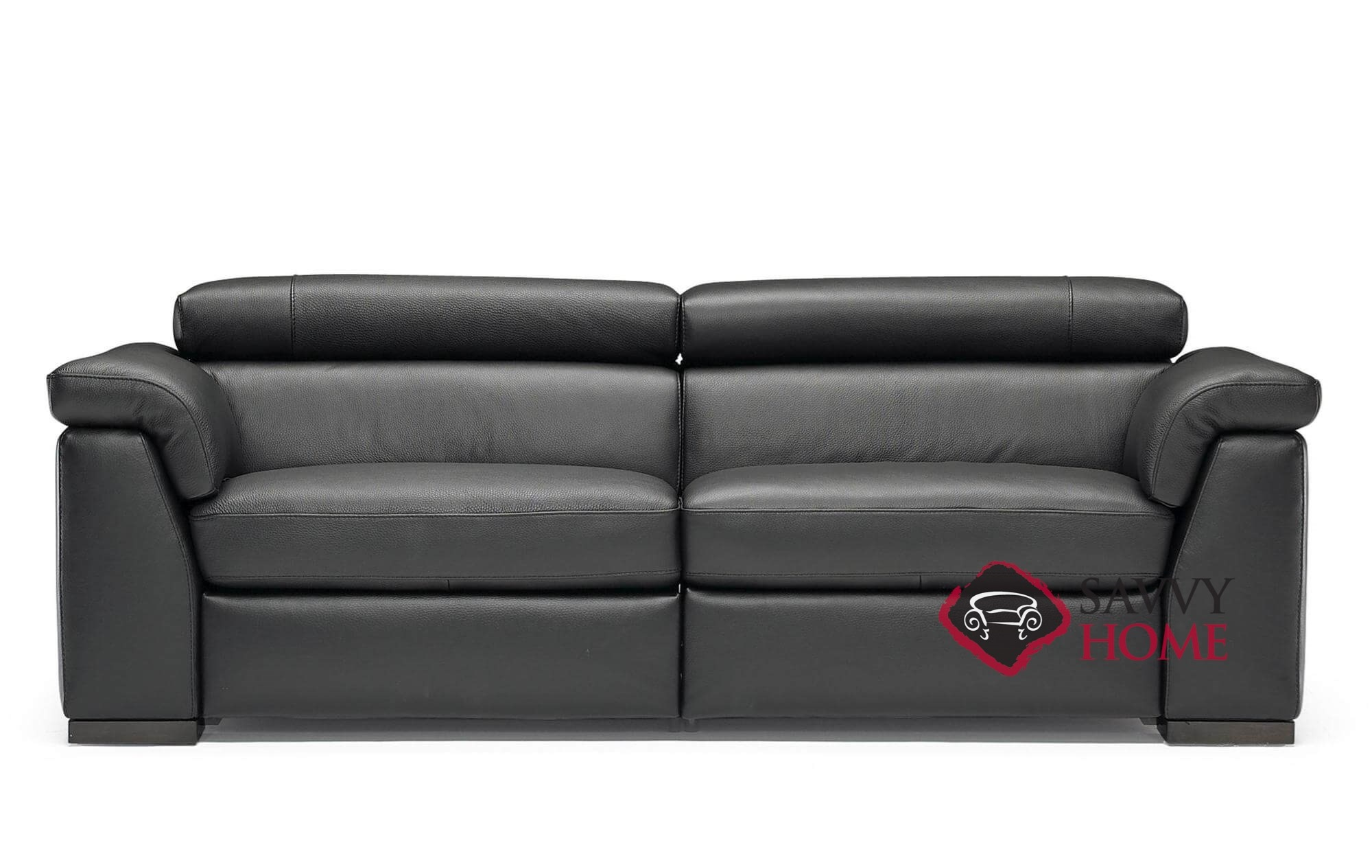 Tommaso (B634-T66) Power Reclining Leather Sofa by Natuzzi