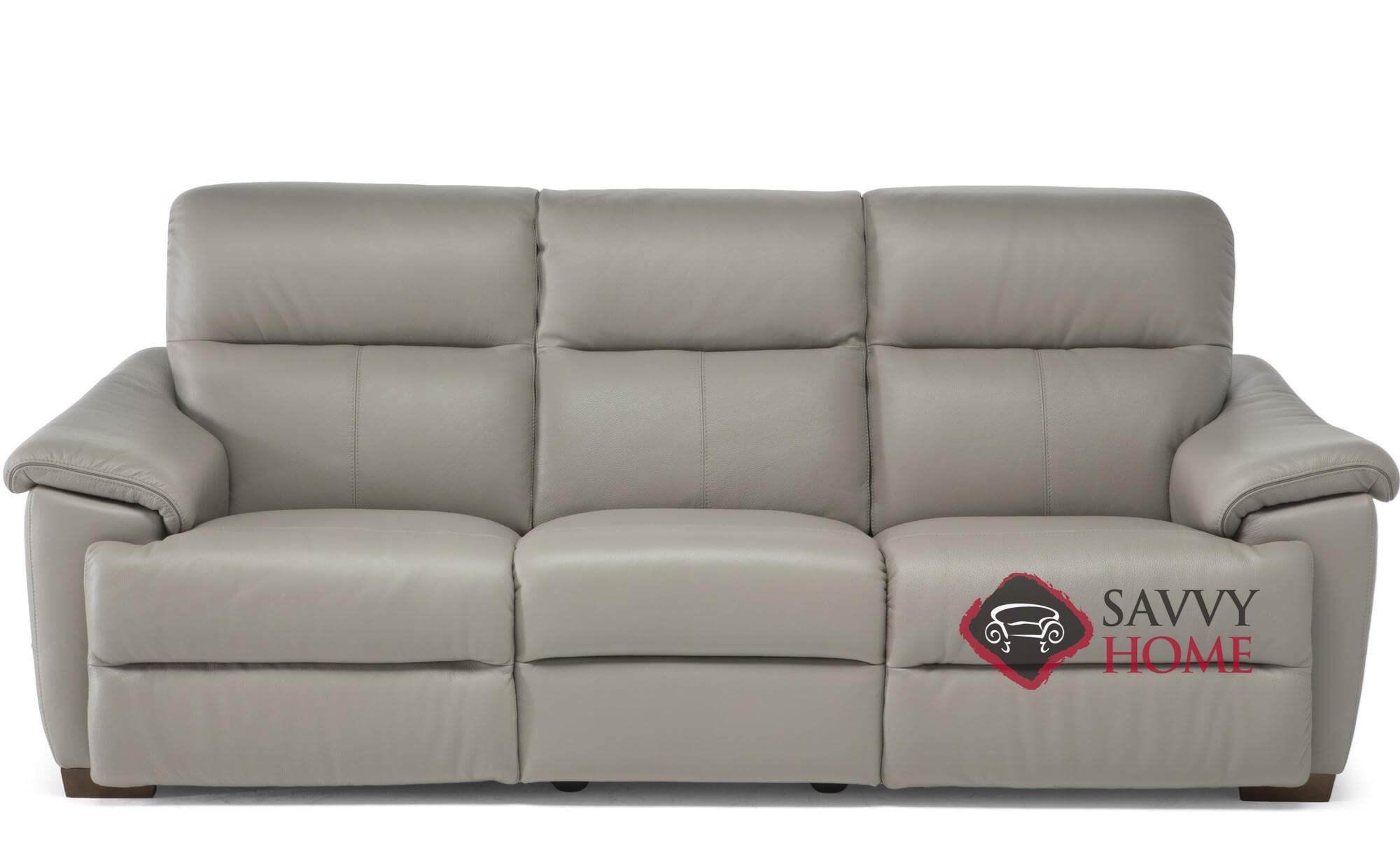 Potenza C063 N55 Power Reclining Leather Large Sofa By Natuzzi