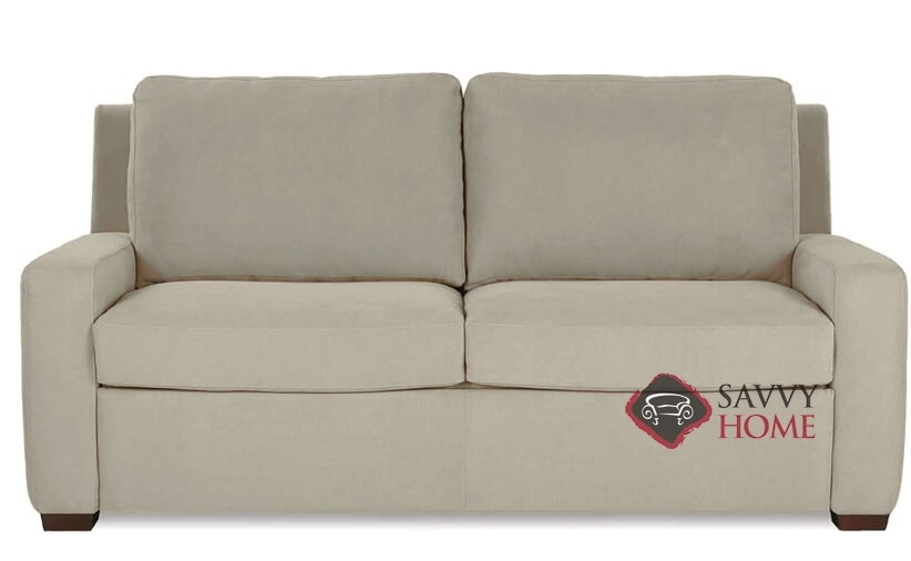 Lyons Fabric Sleeper Sofas Queen By American Leather Is