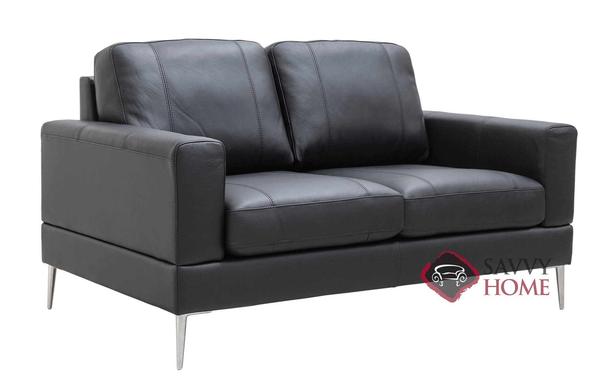 Terrific Capri Leather Loveseat By Luonto Gmtry Best Dining Table And Chair Ideas Images Gmtryco