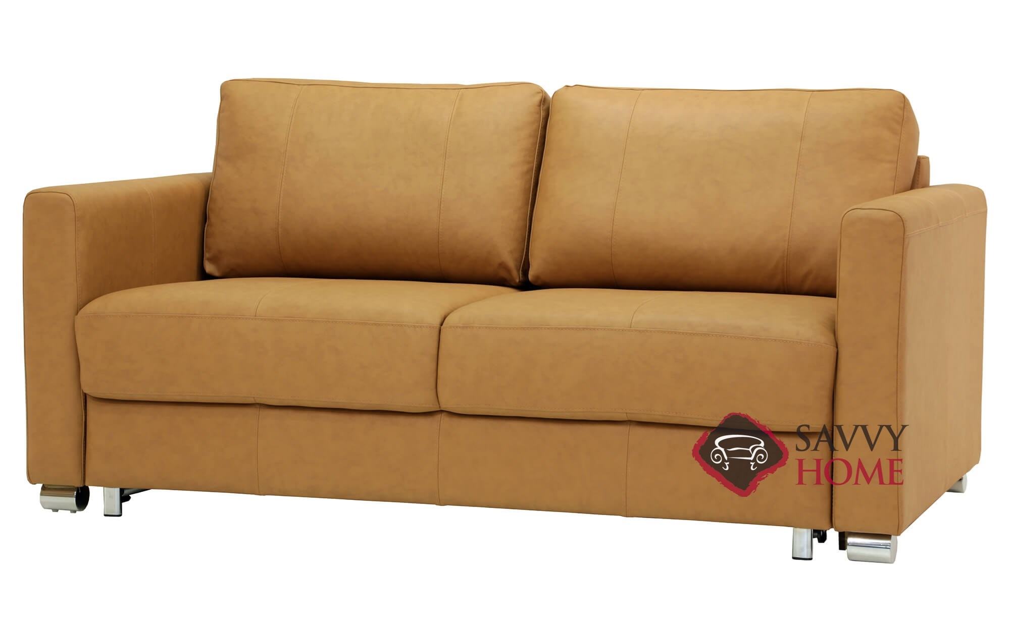 Awe Inspiring Fantasy Ii Queen Leather Sofa Bed By Luonto Theyellowbook Wood Chair Design Ideas Theyellowbookinfo