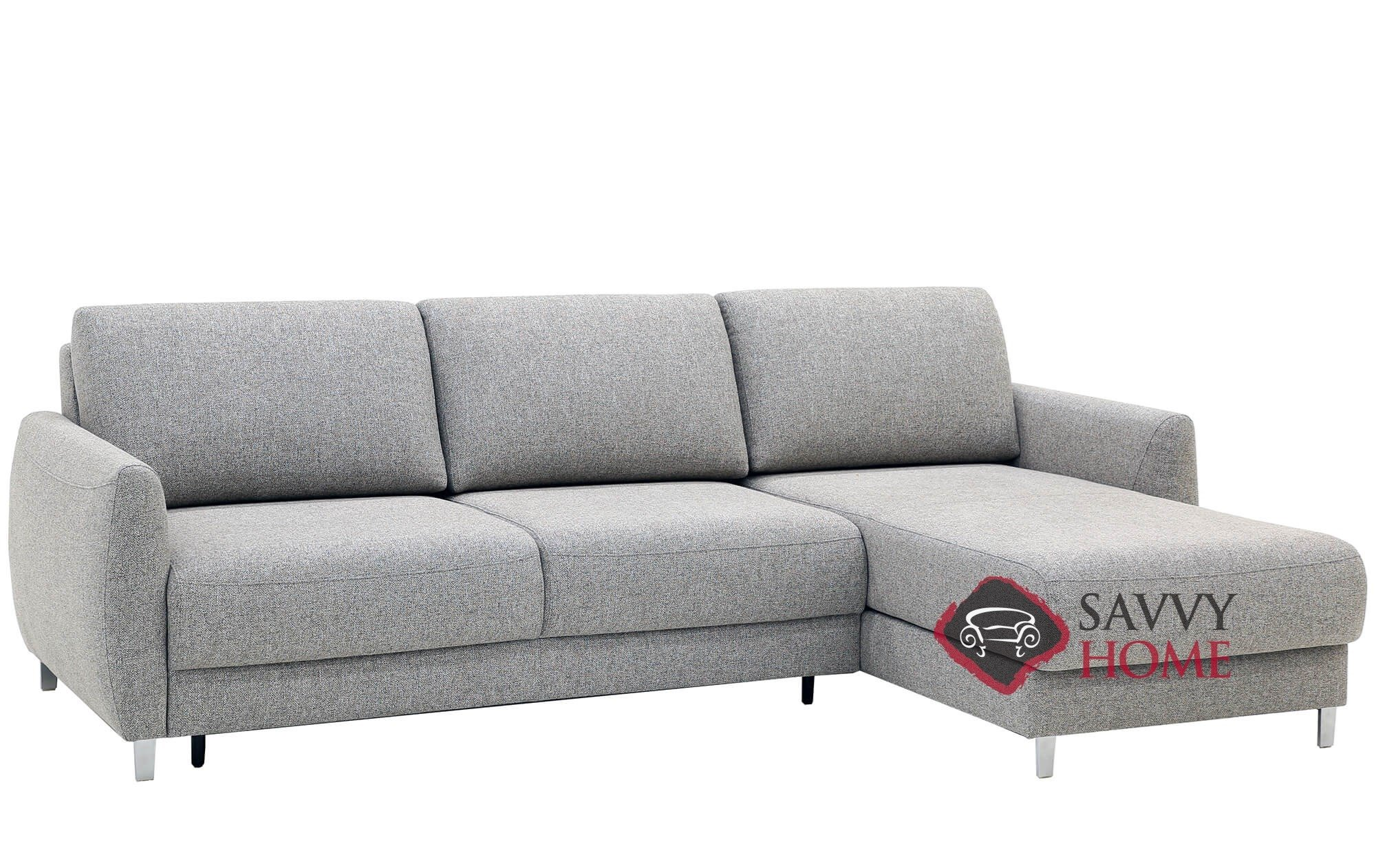 Quick-Ship Delta Fabric Sleeper Sofas Chaise Sectional in by Luonto with  Fast Shipping | SavvyHomeStore.com