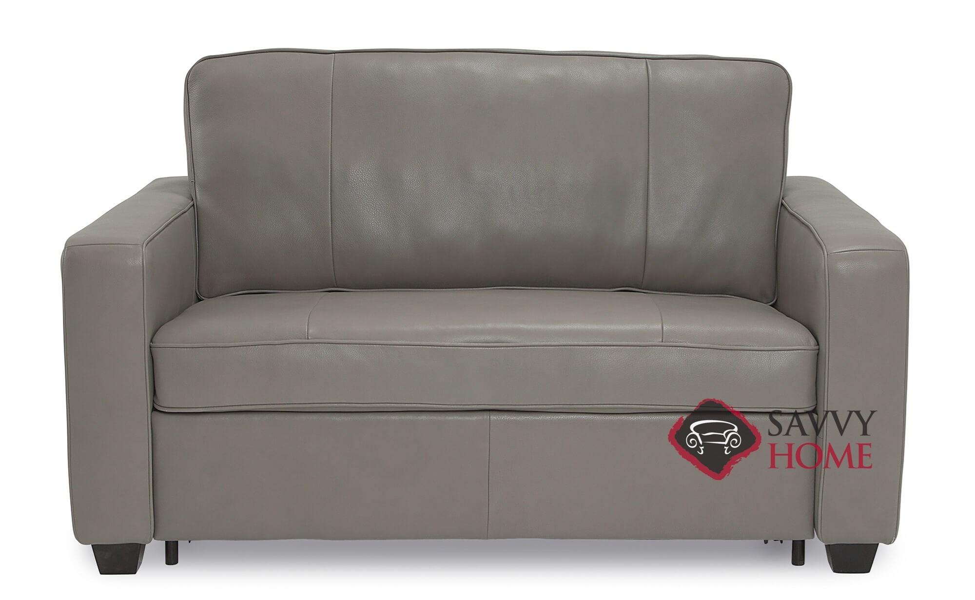 Leather Sleeper Sofas Twin By Palliser